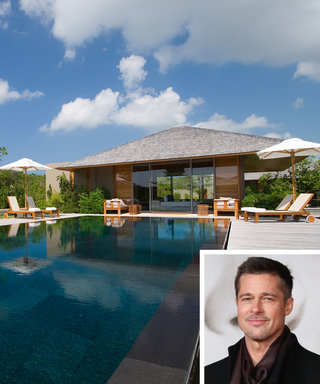 Inside Brad Pitt's Luxurious Turks & Caicos Thanksgiving Vacation