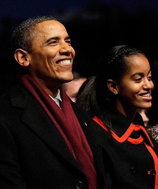 Look Back at 7 Years of the Obama Family's Annual Tree Lighting Ceremony