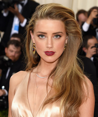 Amber Heard Just Cut Off Her Hair—and You NEED to See the Pics
