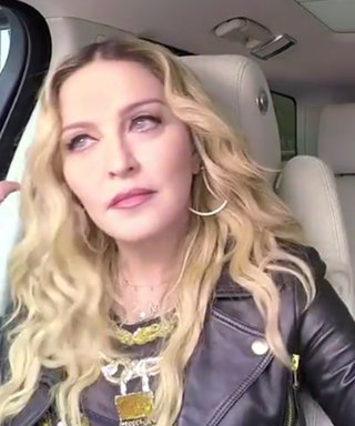 Madonna Twerks in the Front Seat for Carpool Karaoke