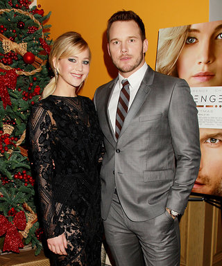 J.Law's Sheer Dress Is All We Can See (Sorry, Chris Pratt)