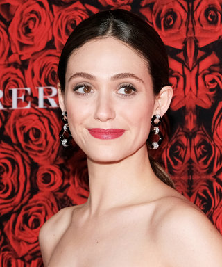 Carolina Herrera Is Officially Designing Emmy Rossum's Wedding Dress