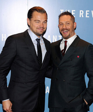 """Tom Hardy Loses Bet with Leonardo DiCaprio, Getting """"Sh*tty"""" Tattoo"""
