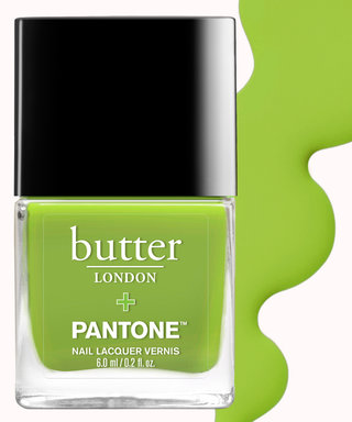 It's Easy Being Green With Butter London's Pantone Nail Lacquer