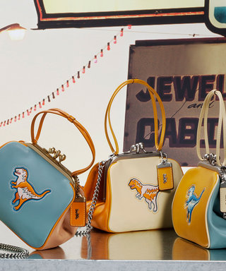 Coach's Famous Dino Rexy Gets Her Own Fashion Collection