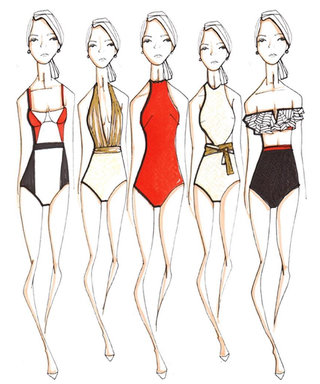 Oscar de la Renta Just Partnered with the Coolest Brand for a Swimwear Collab