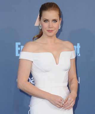 "Amy Adams's Daughter Was on ""Cleavage Patrol"" at the CCAs"