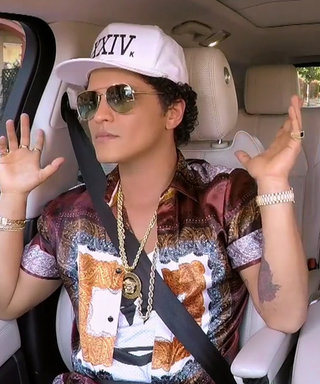 Bruno Mars's Carpool Karaoke Is the Dance Party We Need Right Now