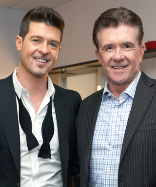 Robin Thicke and More Stars Pay Tribute to Alan Thicke