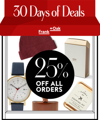 30 Days of Deals: Save 25% at Frank + Oak Today!