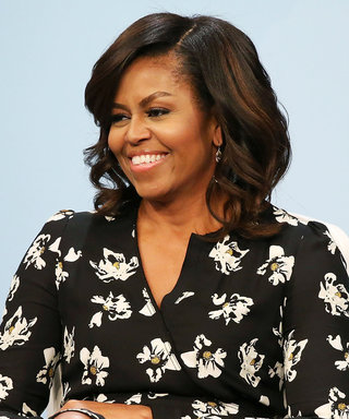 Michelle Obama Is Feeling Summer in a White Shoulder-Baring Look