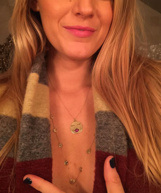 Shop Blake Lively's $1,650 Emoji Necklace (& More Affordable Options)