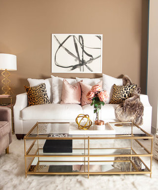 Home Tour: A Living Room Makeover That's More Than Darling
