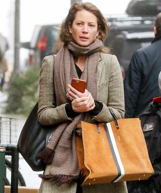 Christy Turlington Does Menswear Right While Riding N.Y.C. Subway