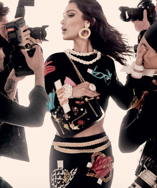 Gigi and Bella Hadid Team Up for Moschino's Spring Campaign