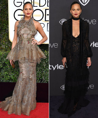 The Best 2017 Golden Globes Red Carpet-to-After-Party Outfit Changes