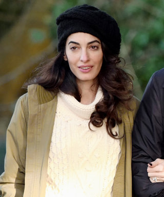 Amal Clooney Demos How to Layer Like a Lady