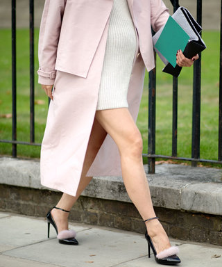 LONDON, ENGLAND - SEPTEMBER 15:  Eva Chen in the streets of London during London Fashion Week Spring Summer 2015 at  on September 15, 2014 in London, England.  (Photo by Timur Emek/Getty Images)