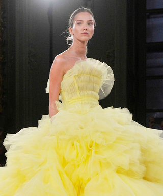 The Fluffiest, Over-the-Top Gowns from Giambattista Valli Haute Couture