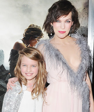 Milla Jovovich & Her 9-Year-Old Daughter Are Red Carpet Twins