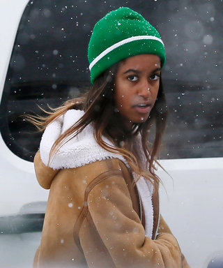 Malia Obama Spotted at Sundance Film Festival Looking Cozy Chic