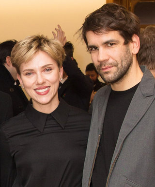 Scarlett Johansson's Vintage Jean Look from Romain Dauriac's Art Show Is Fire