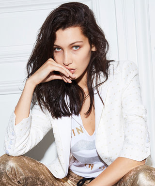 Big Sis Bella Hadid Models with Little Brother Anwar