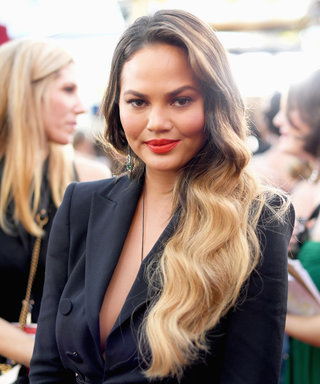 Exclusive: An Inside Look at Chrissy Teigen's SAG Awards Beauty Prep