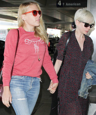 Busy Phillips Wears the Perfect Airport Sweatshirt