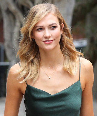 You Can Buy Karlie Kloss's Sexy Emerald Slip Dress Right Now