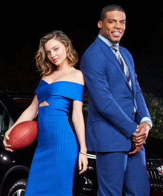 Miranda Kerr Is the Sexiest Football Coach You'll See This Super Bowl