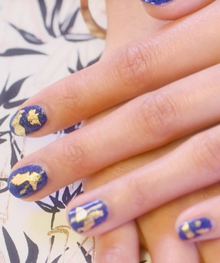 Nail Art Know How: Gold Standard