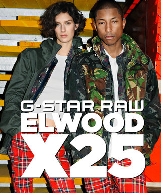 Pharrell Williams Launches His First Denim Collection with G-Star Raw