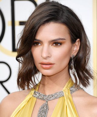 BEVERLY HILLS, CA - JANUARY 08: Emily Ratajkowski attends the 74th Annual Golden Globe Awards at The Beverly Hilton Hotel on January 8, 2017 in Beverly Hills, California. (Photo by Venturelli/WireImage)