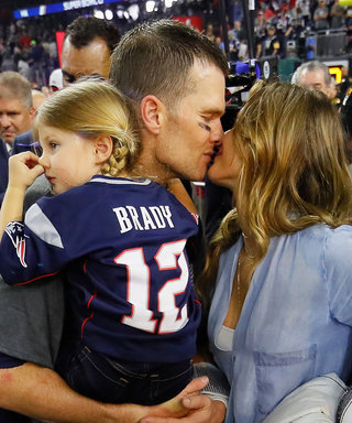 Gisele and Tom Brady's Sweet Family Super Bowl Moments