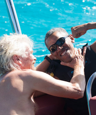 Barack Obama LetLoose by Kitesurfing and the Footage Is Incredible