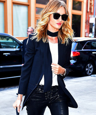 Rosie Huntington-Whiteley's Chic Street Style
