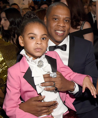 Blue Ivy Carter Wore a Pink Gucci Suit to the Grammys, and We're Living For It