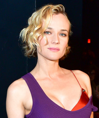 Diane Kruger Layered on TWO Dresses and It Totally Worked