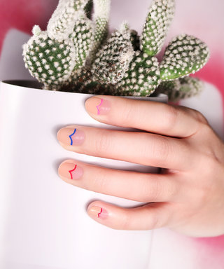 See How to Nail This Minimalist Valentine's Manicure