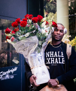 Please Enjoy These Photos of Hot Guys Buying Flowers for V-Day