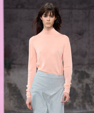 How to Layer a Skirt Over Pants, As Seen at Tibi