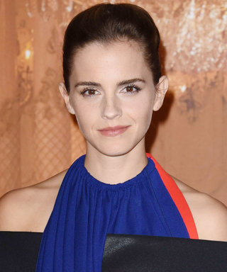 Emma Watson's Updo Looks Even Better from the Back