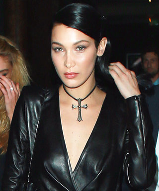 Bella Hadid's Sky-High Slit Must Be Seen to Be Believed