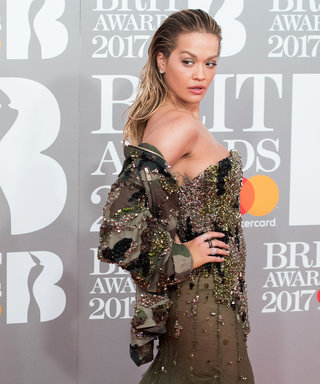 You Have to See Rita Ora's Camo Princess Gown