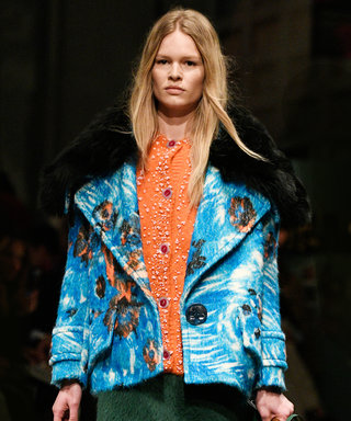 The Best (and Fuzziest!) Looks from Prada's Fall 2017 Show
