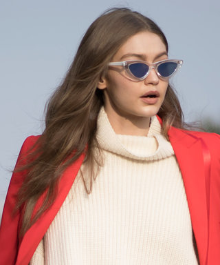 Gigi Hadid Steps Out in the Color That's All Over Fashion Month
