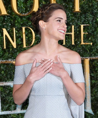 Emma Watson Is Really Leaning Into This Whole Princess Thing