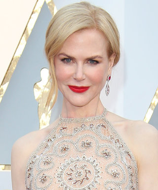 Nicole Kidman Altered Her Armani Privé Gown Halfway Through the Oscars