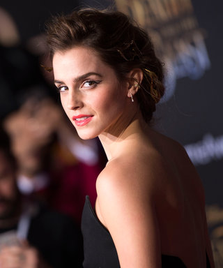 Emma Watson's Black Jumpsuit Is Fierce from Every Angle